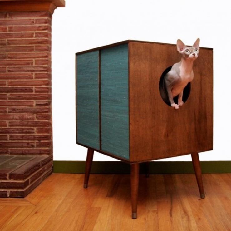 soluzioni per nascondere la lettiera del gatto19