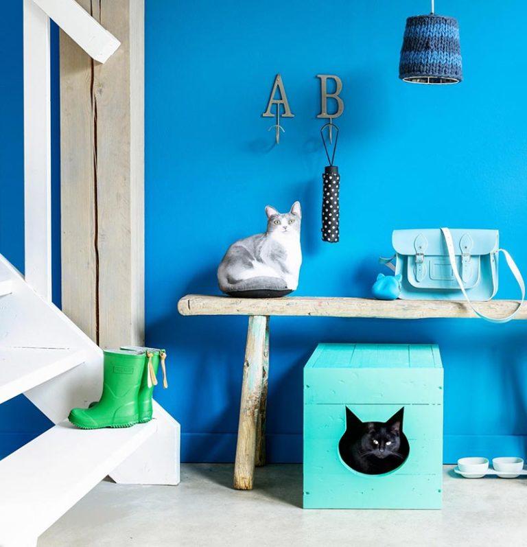 soluzioni per nascondere la lettiera del gatto3
