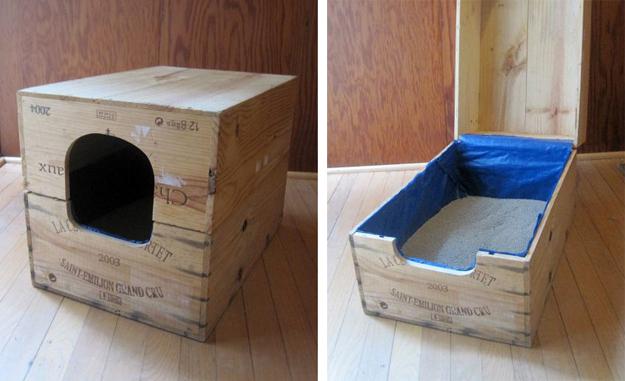 soluzioni per nascondere la lettiera del gatto8